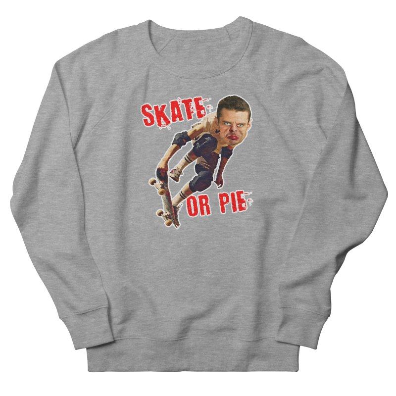 Skate or Pie Men's Sweatshirt by The Rake & Herald Online Clag Emporium