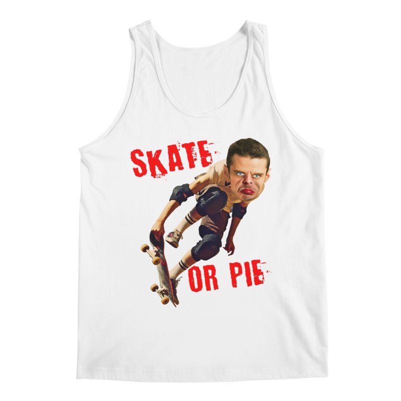 Skate or Pie Men's Tank by The Rake & Herald Online Clag Emporium