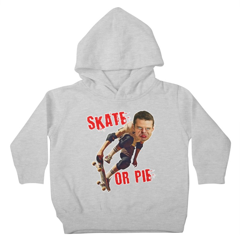 Skate or Pie Kids Toddler Pullover Hoody by The Rake & Herald Online Clag Emporium