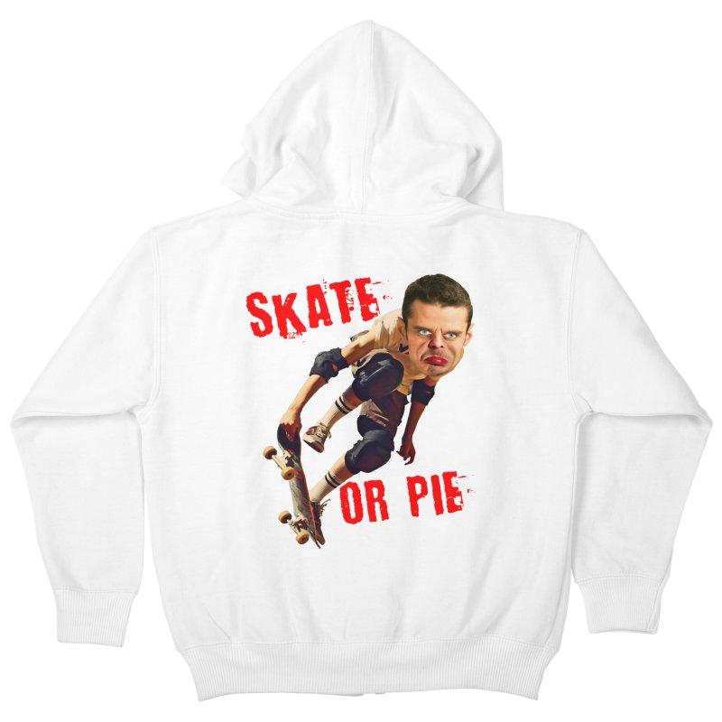 Skate or Pie Kids Zip-Up Hoody by The Rake & Herald Online Clag Emporium