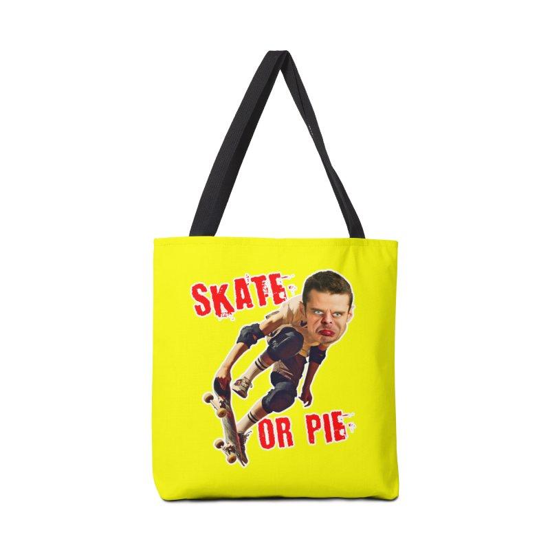 Skate or Pie Accessories Bag by The Rake & Herald Online Clag Emporium