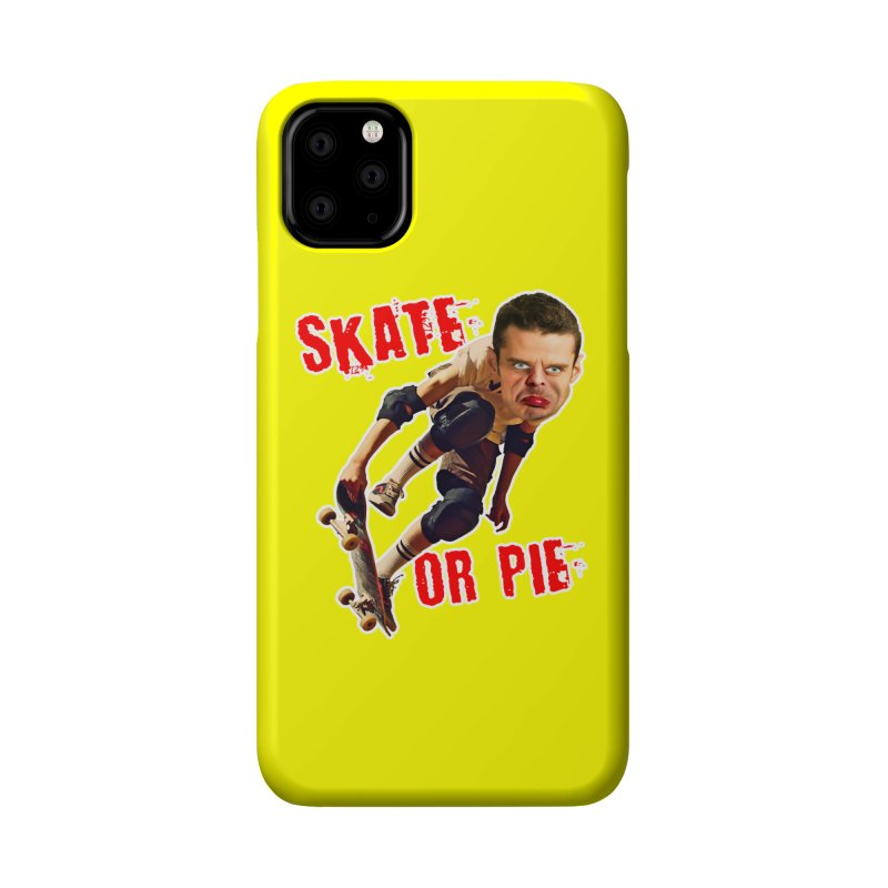 Skate or Pie Accessories Phone Case by The Rake & Herald Online Clag Emporium