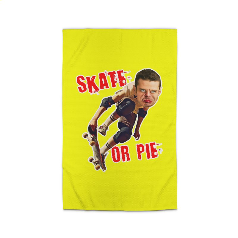 Skate or Pie Home Rug by The Rake & Herald Online Clag Emporium