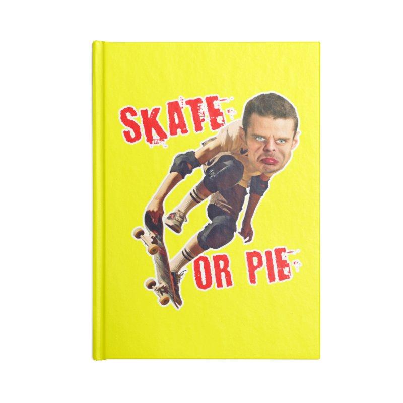 Skate or Pie Accessories Notebook by The Rake & Herald Online Clag Emporium