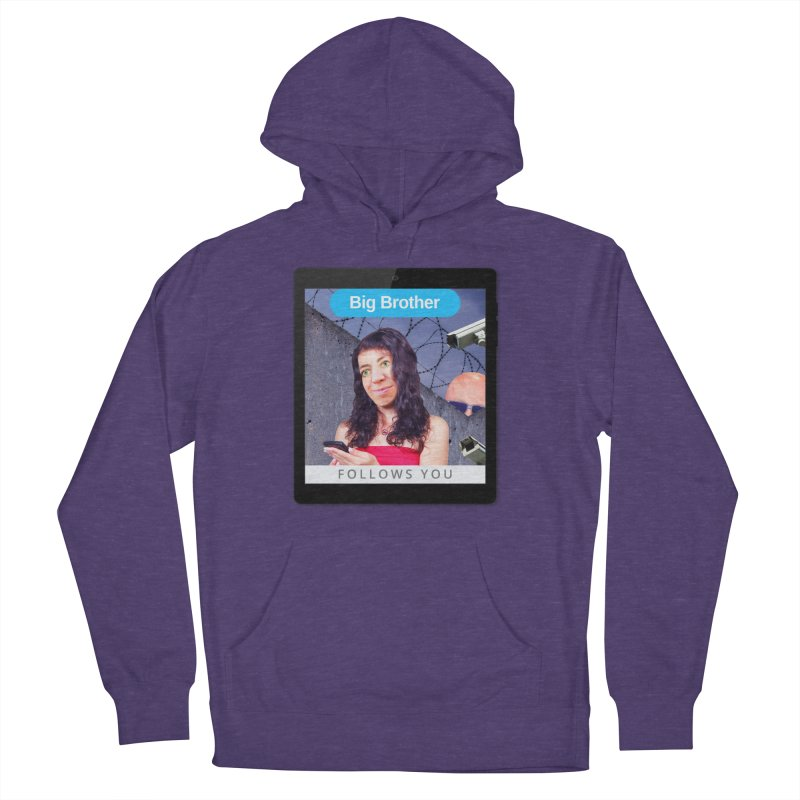 Big Brother Follows You Women's Pullover Hoody by The Rake & Herald Online Clag Emporium