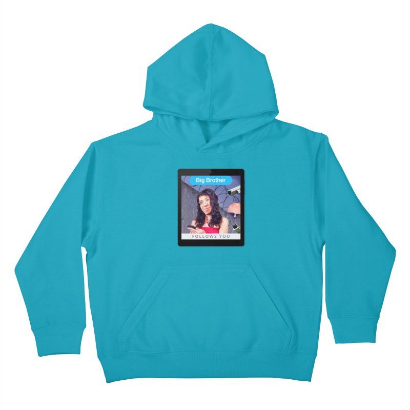 Big Brother Follows You Kids Pullover Hoody by The Rake & Herald Online Clag Emporium