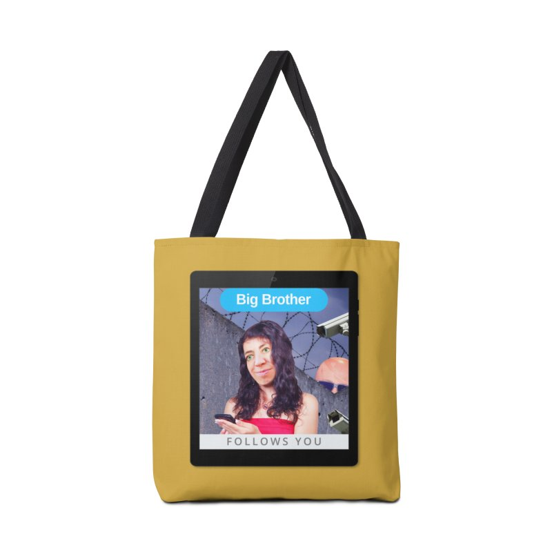 Big Brother Follows You Accessories Bag by The Rake & Herald Online Clag Emporium