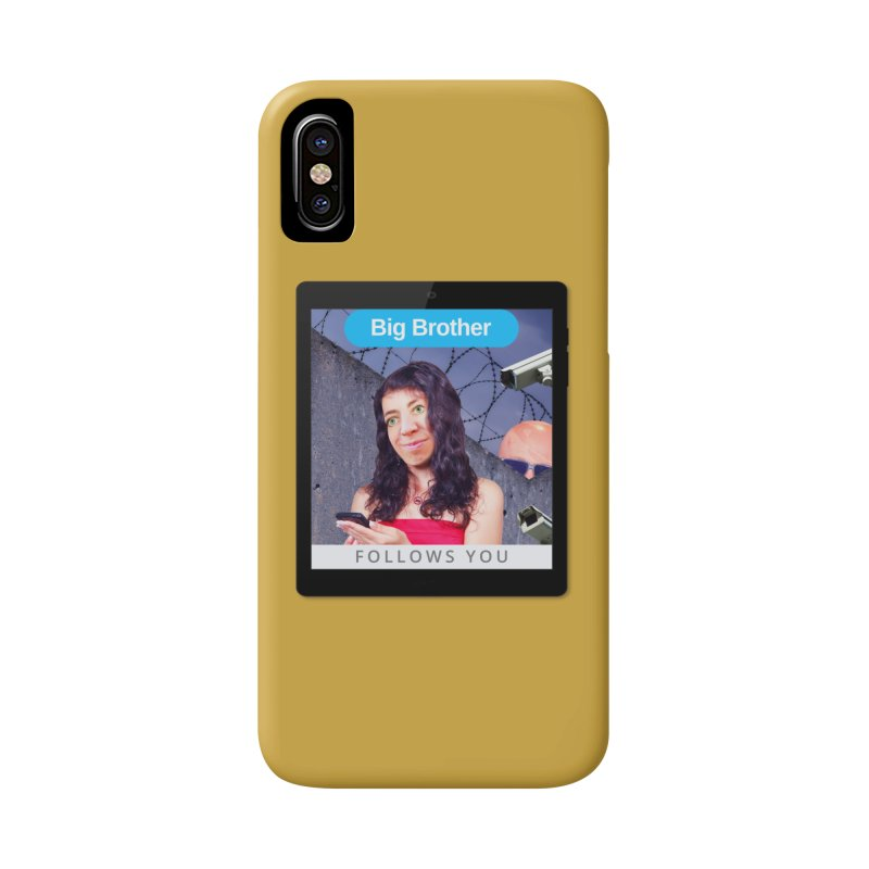 Big Brother Follows You Accessories Phone Case by The Rake & Herald Online Clag Emporium