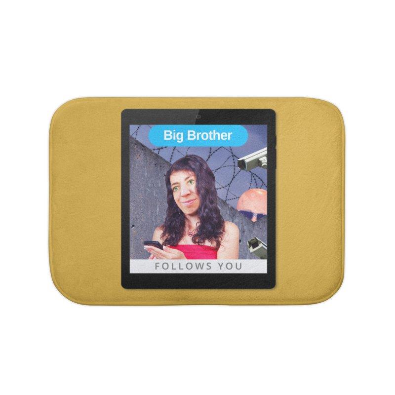 Big Brother Follows You Home Bath Mat by The Rake & Herald Online Clag Emporium