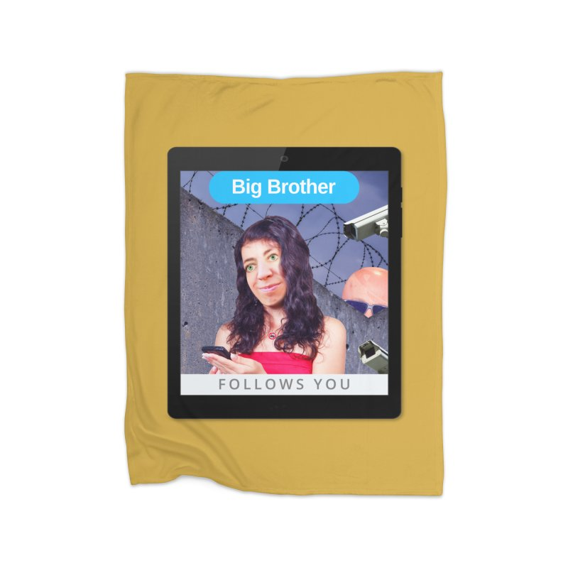 Big Brother Follows You Home Blanket by The Rake & Herald Online Clag Emporium