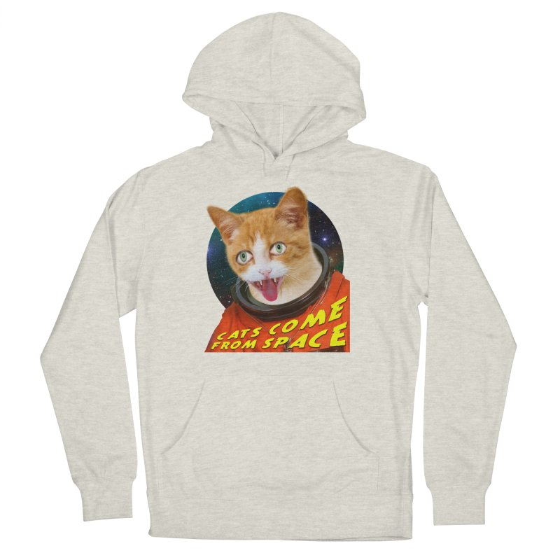 Cats Come From Space Women's Pullover Hoody by The Rake & Herald Online Clag Emporium