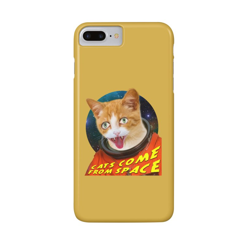 Cats Come From Space Accessories Phone Case by The Rake & Herald Online Clag Emporium