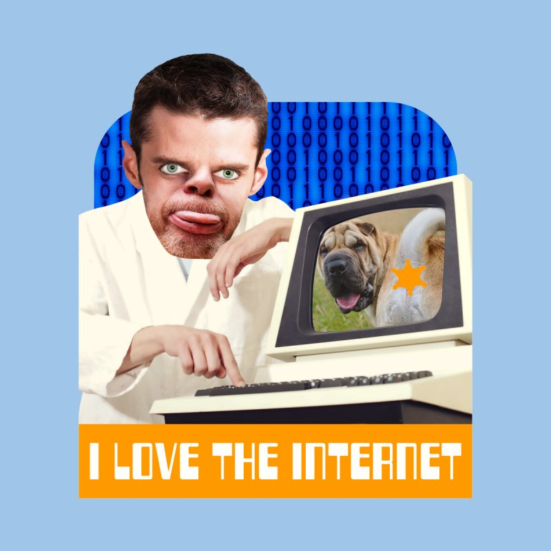 I Love the Internet Men's T-Shirt by The Rake & Herald Online Clag Emporium