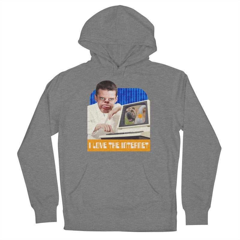 I Love the Internet Women's Pullover Hoody by The Rake & Herald Online Clag Emporium