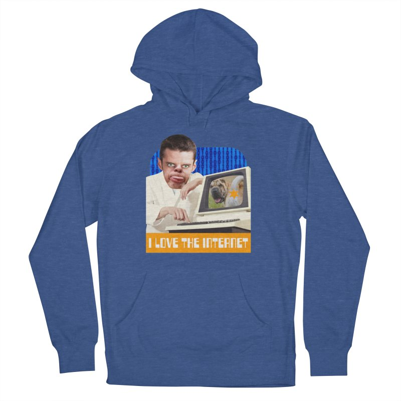 I Love the Internet Men's French Terry Pullover Hoody by The Rake & Herald Online Clag Emporium