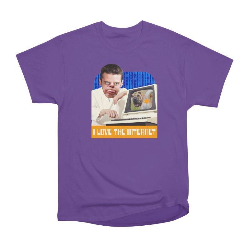 I Love the Internet Men's Classic T-Shirt by The Rake & Herald Online Clag Emporium