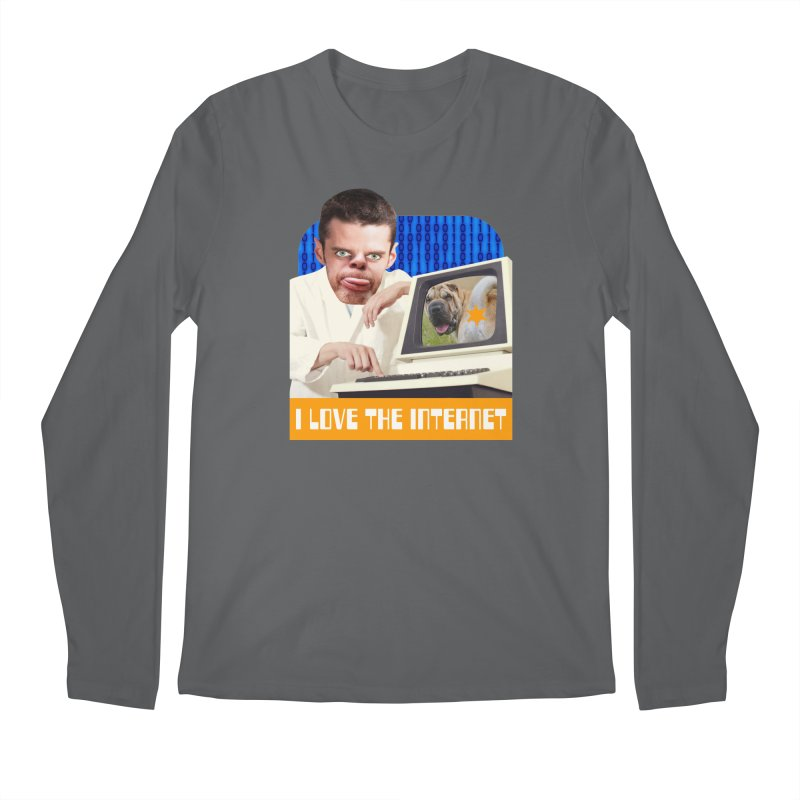I Love the Internet Men's Longsleeve T-Shirt by The Rake & Herald Online Clag Emporium