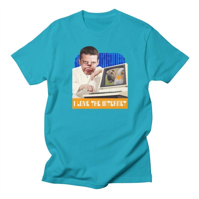 I Love the Internet Women's Regular Unisex T-Shirt by The Rake & Herald Online Clag Emporium