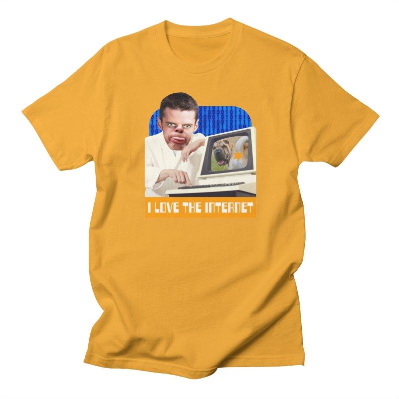I Love the Internet Men's Regular T-Shirt by The Rake & Herald Online Clag Emporium