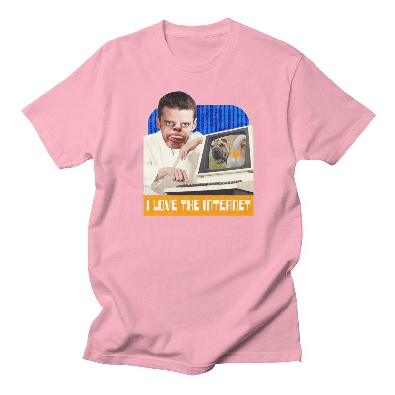 I Love the Internet Men's T-Shirt by The Rake & Herald Online Clag Emporium