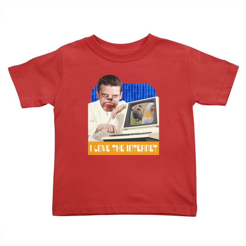 I Love the Internet Kids Toddler T-Shirt by The Rake & Herald Online Clag Emporium