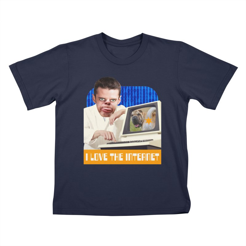 I Love the Internet Kids T-Shirt by The Rake & Herald Online Clag Emporium