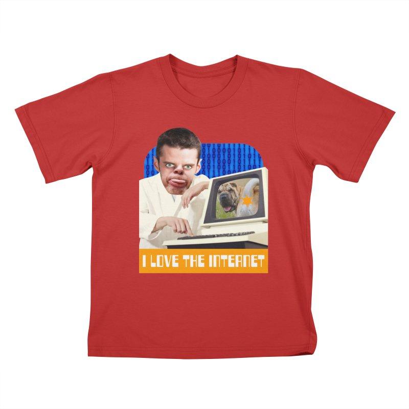 I Love the Internet Kids T-Shirt by The Rake & Herald Online Clag Emporium
