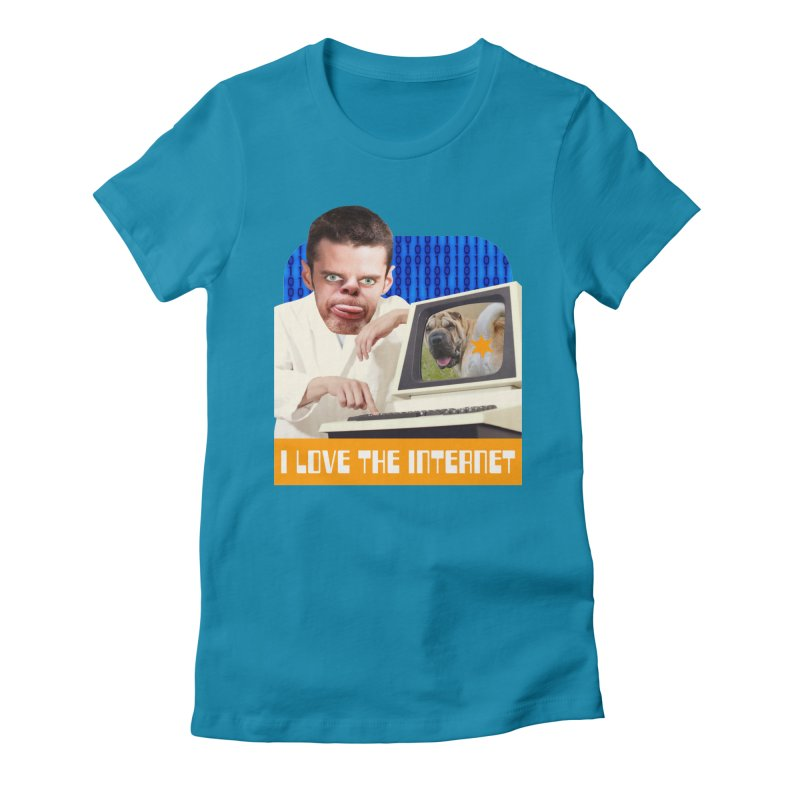 I Love the Internet Women's T-Shirt by The Rake & Herald Online Clag Emporium
