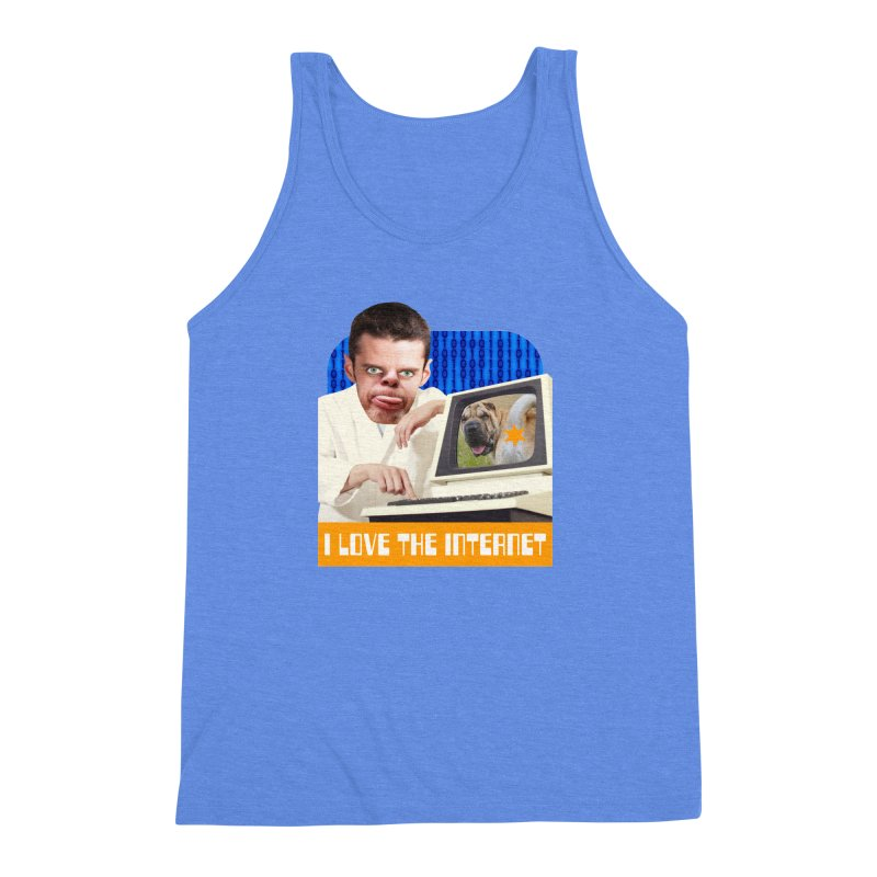 I Love the Internet Men's Triblend Tank by The Rake & Herald Online Clag Emporium