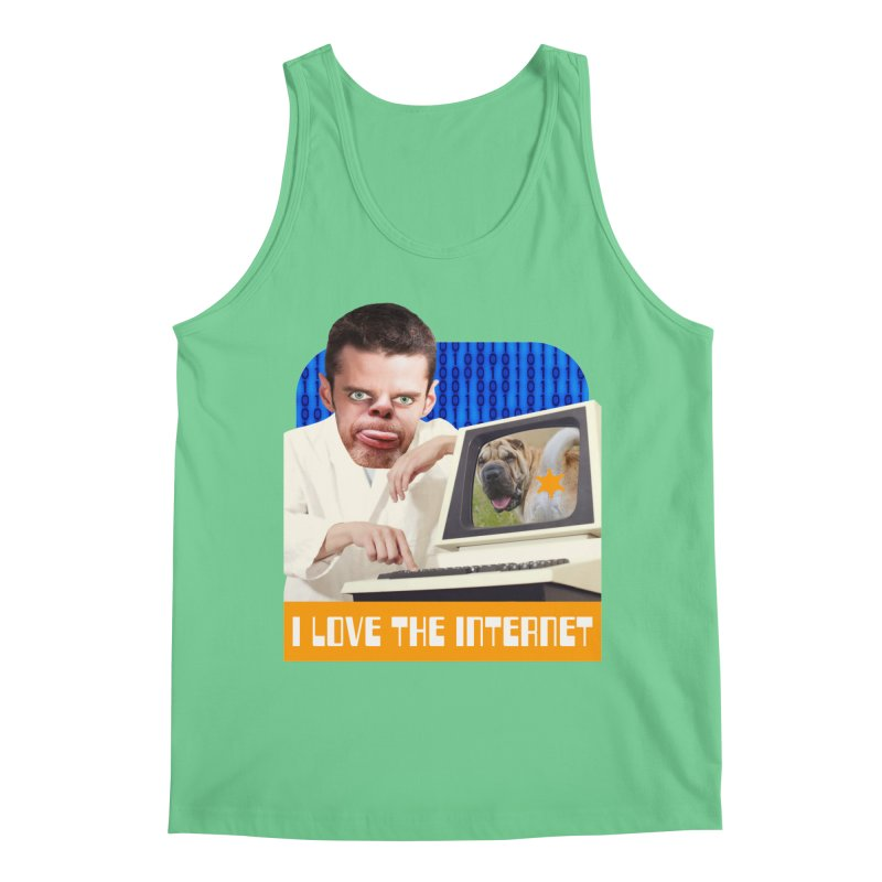 I Love the Internet Men's Regular Tank by The Rake & Herald Online Clag Emporium