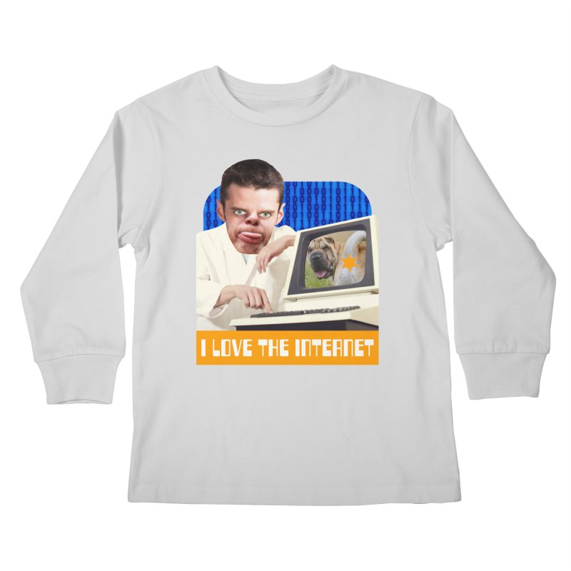 I Love the Internet Kids Longsleeve T-Shirt by The Rake & Herald Online Clag Emporium