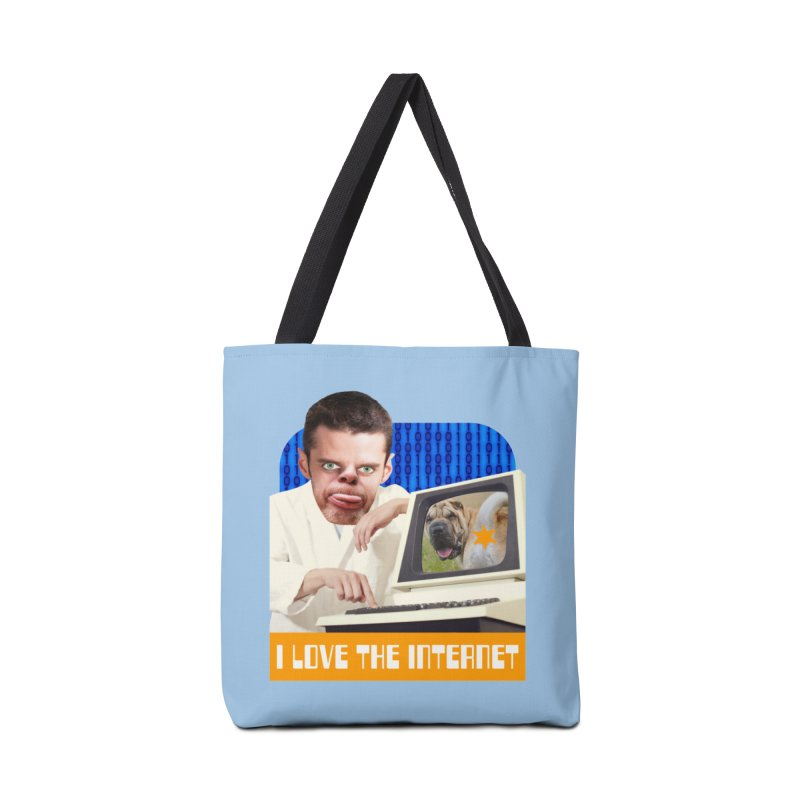 I Love the Internet Accessories Tote Bag Bag by The Rake & Herald Online Clag Emporium