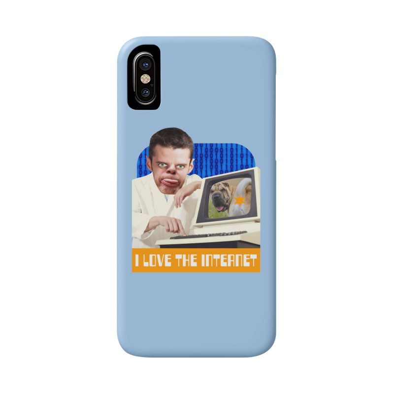 I Love the Internet Accessories Phone Case by The Rake & Herald Online Clag Emporium