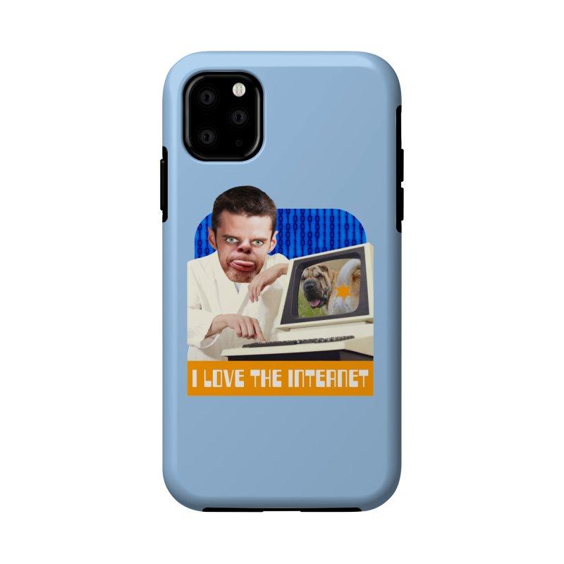 I Love the Internet Accessories Phone Case by The Rake & Herald Online Clag Emporium