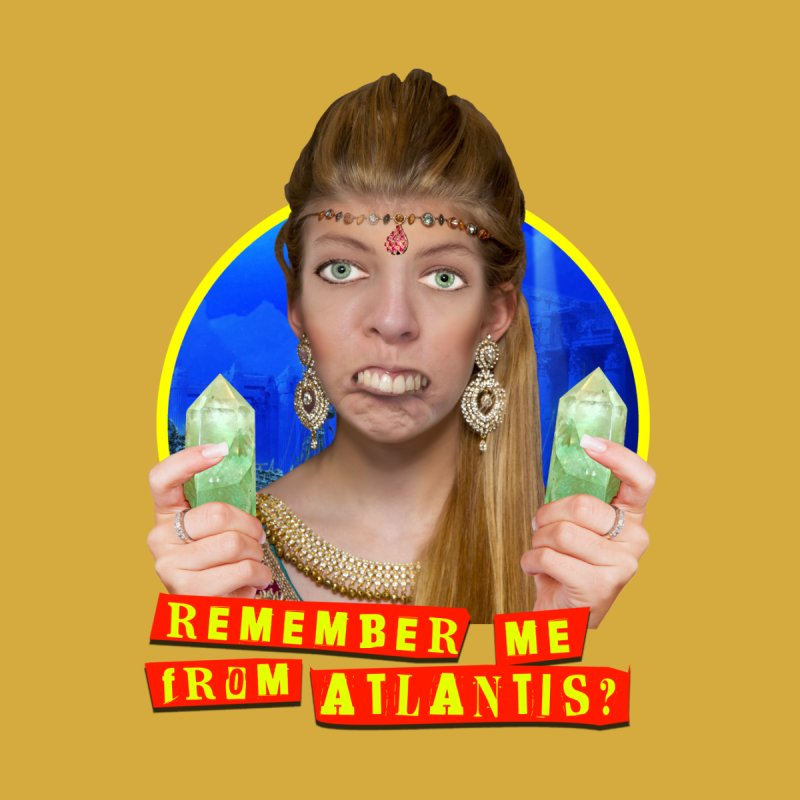 Remember Me From Atlantis? Men's T-Shirt by The Rake & Herald Online Clag Emporium