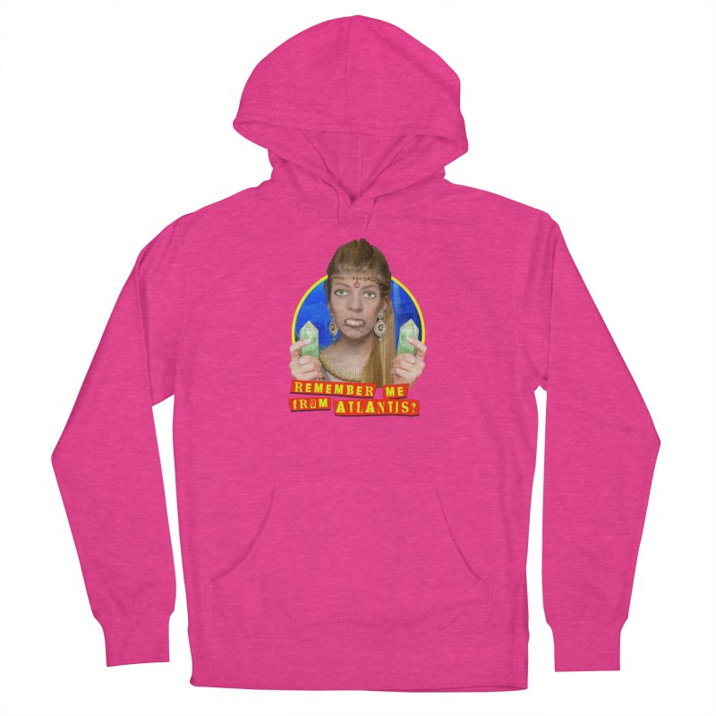 Remember Me From Atlantis? Women's French Terry Pullover Hoody by The Rake & Herald Online Clag Emporium