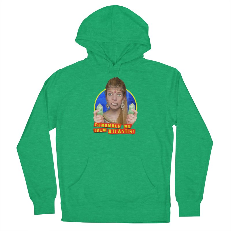 Remember Me From Atlantis? Men's French Terry Pullover Hoody by The Rake & Herald Online Clag Emporium