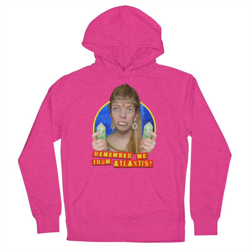 Remember Me From Atlantis? Women's Pullover Hoody by The Rake & Herald Online Clag Emporium