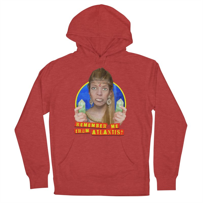 Remember Me From Atlantis? Men's Pullover Hoody by The Rake & Herald Online Clag Emporium
