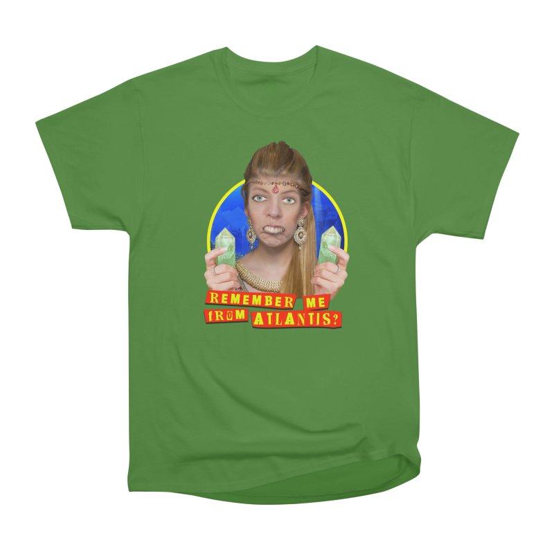 Remember Me From Atlantis? Men's Classic T-Shirt by The Rake & Herald Online Clag Emporium