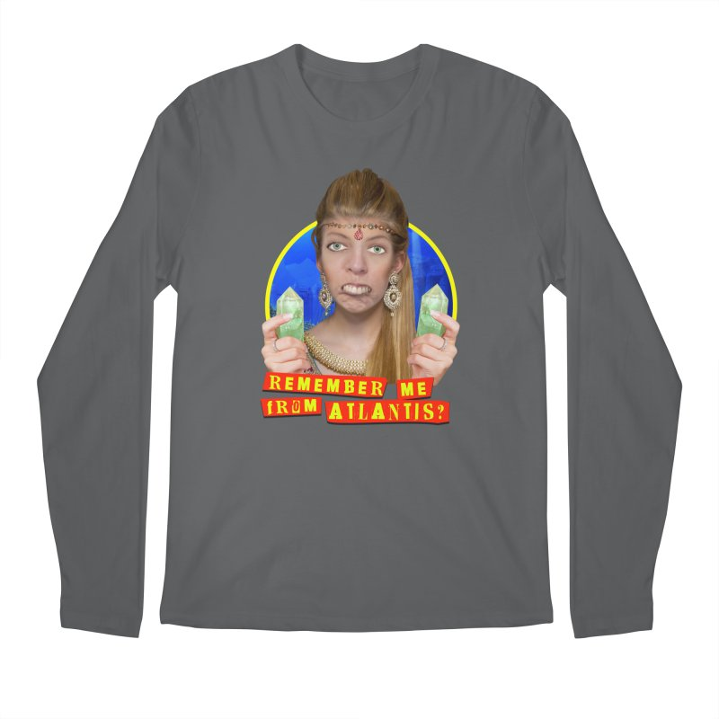 Remember Me From Atlantis? Men's Longsleeve T-Shirt by The Rake & Herald Online Clag Emporium