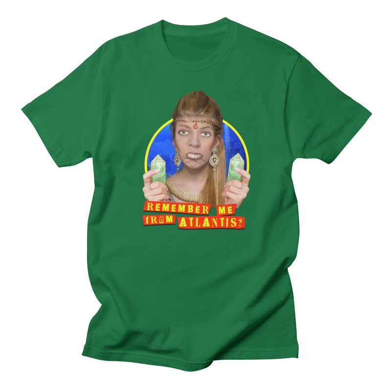 Remember Me From Atlantis? Men's T-Shirt by The Rake & Herald Online Clag Emporium