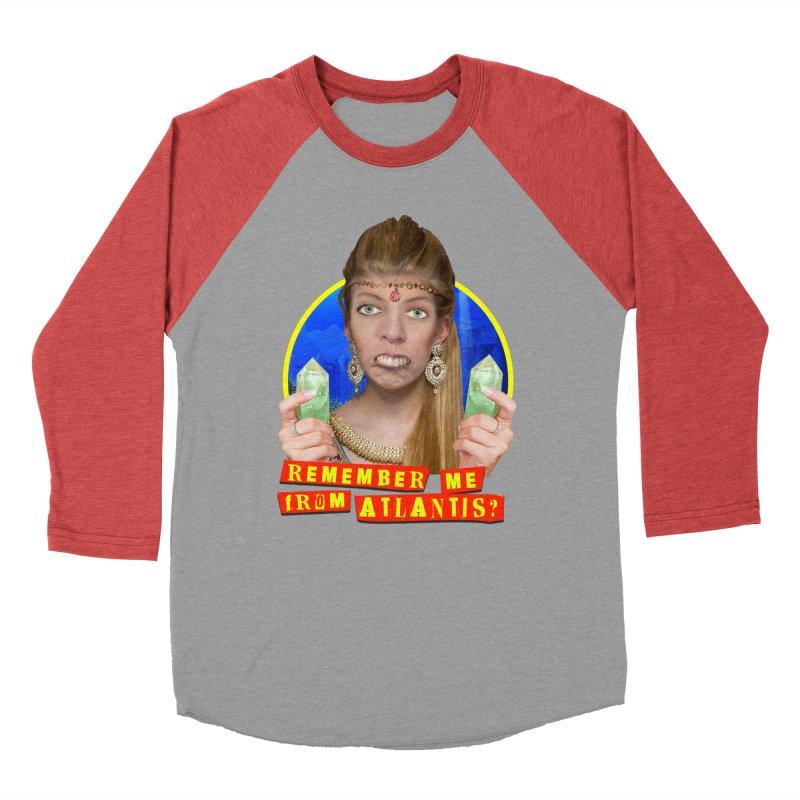 Remember Me From Atlantis? Women's Baseball Triblend T-Shirt by The Rake & Herald Online Clag Emporium