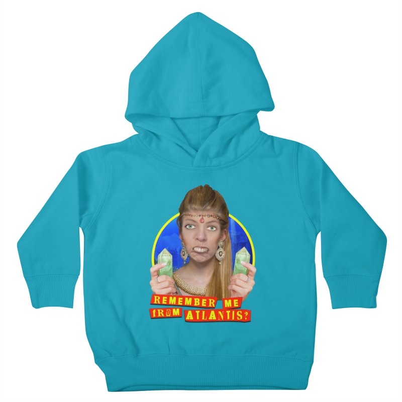 Remember Me From Atlantis? Kids Toddler Pullover Hoody by The Rake & Herald Online Clag Emporium