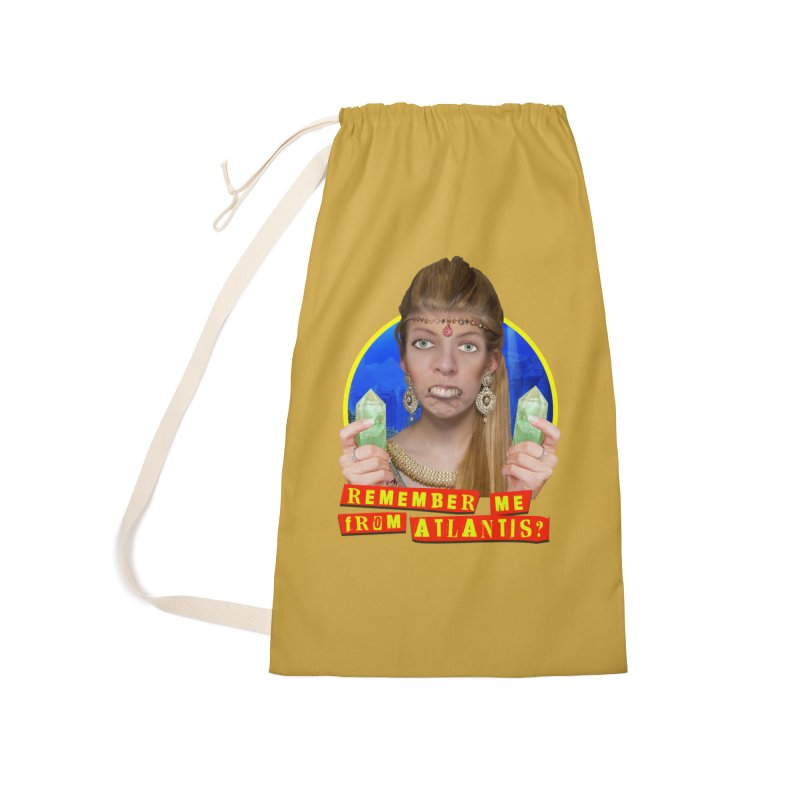 Remember Me From Atlantis? Accessories Laundry Bag Bag by The Rake & Herald Online Clag Emporium
