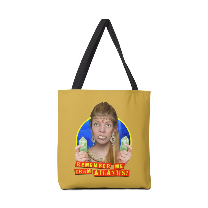 Remember Me From Atlantis? Accessories Bag by The Rake & Herald Online Clag Emporium