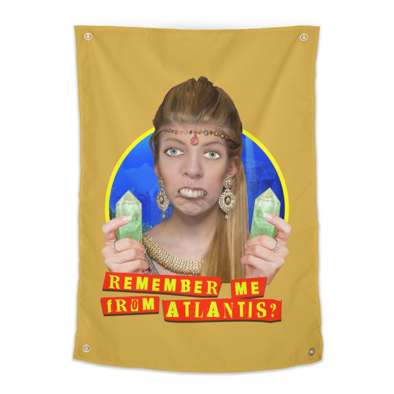 Remember Me From Atlantis? Home Tapestry by The Rake & Herald Online Clag Emporium