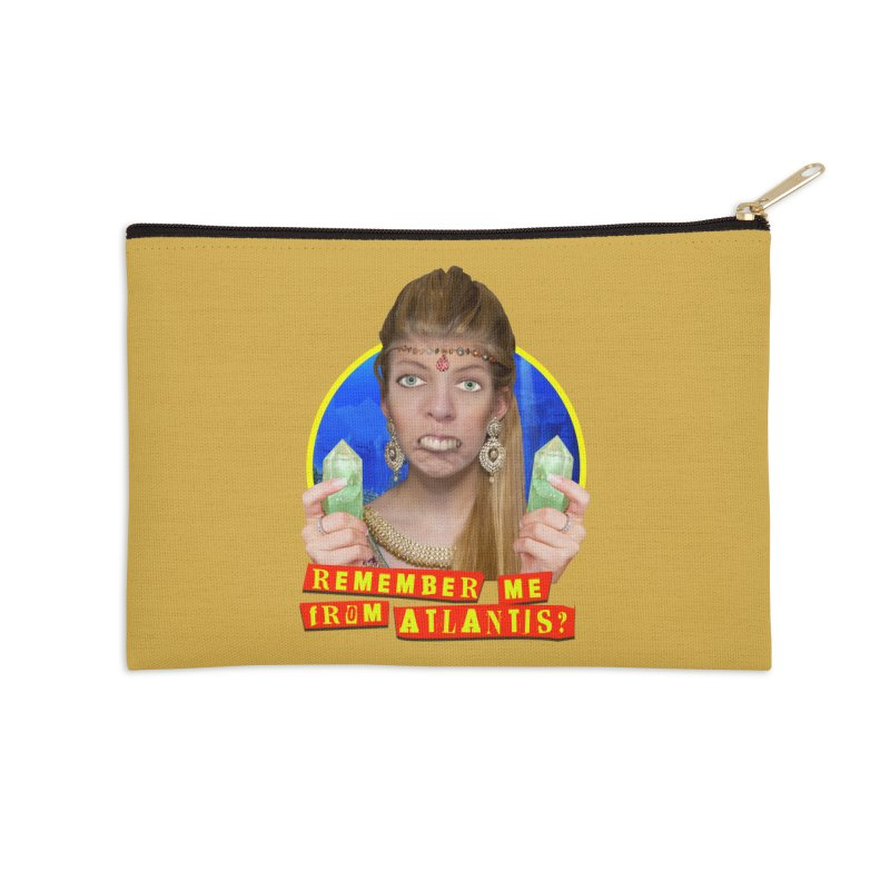 Remember Me From Atlantis? Accessories Zip Pouch by The Rake & Herald Online Clag Emporium