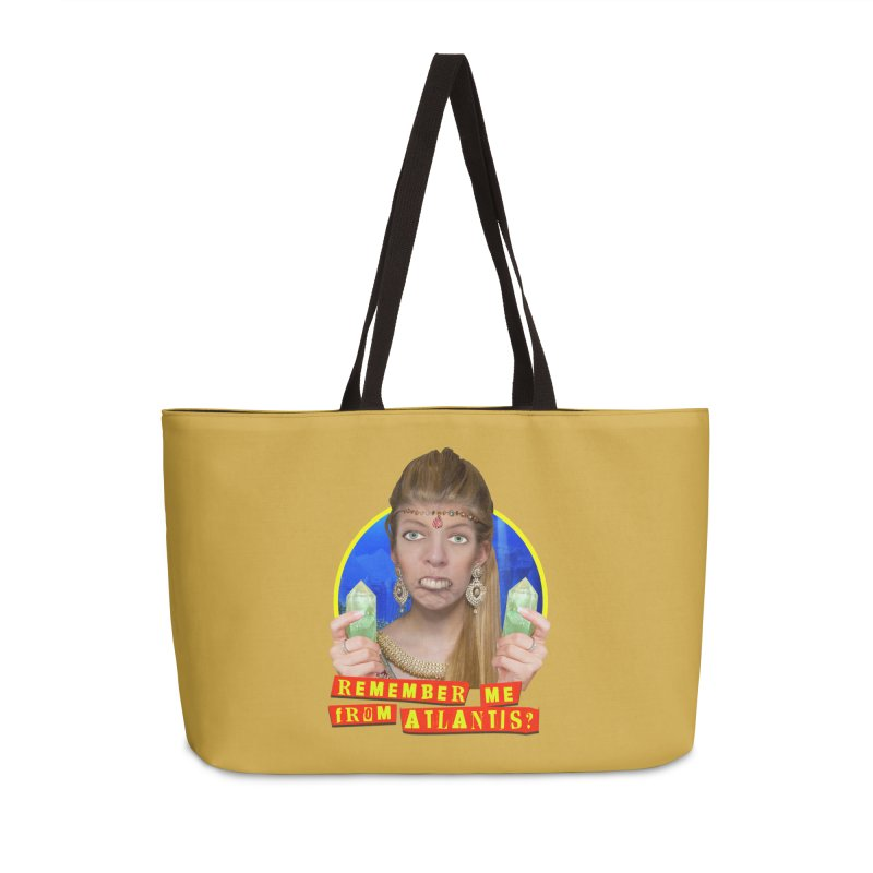 Remember Me From Atlantis? Accessories Weekender Bag Bag by The Rake & Herald Online Clag Emporium