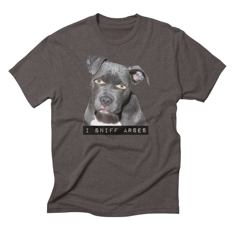 I Sniff Arses Men's Triblend T-shirt by The Rake & Herald Online Clag Emporium